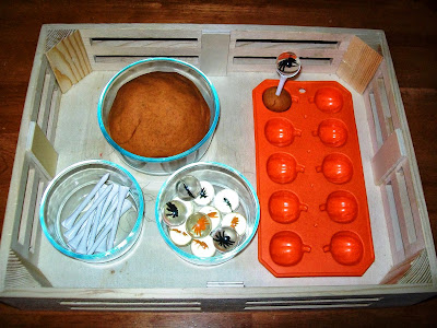 Halloween Play Dough Fine Motor Activity