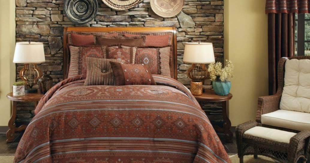Total fab southwest style comforters and native american for American themed bedroom ideas