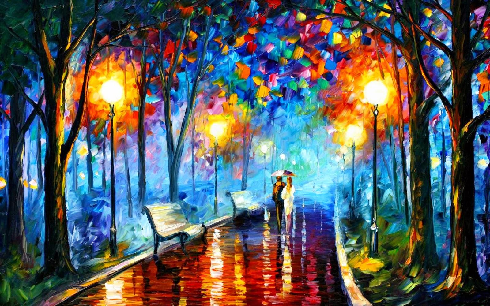 Beautiful Wallpaper Painting Wallpaper 2014