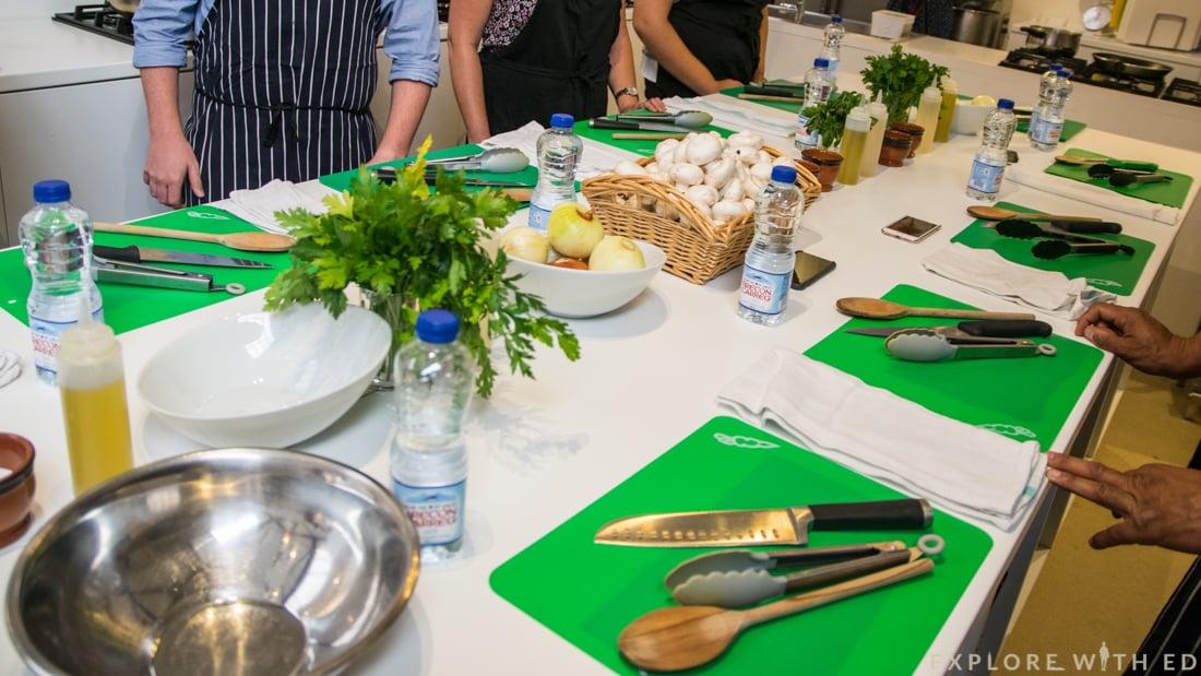 Giovanni's Cookery School Cardiff Kitchen