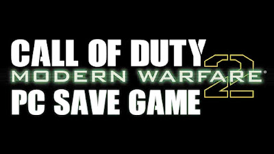 cod mw2 save game
