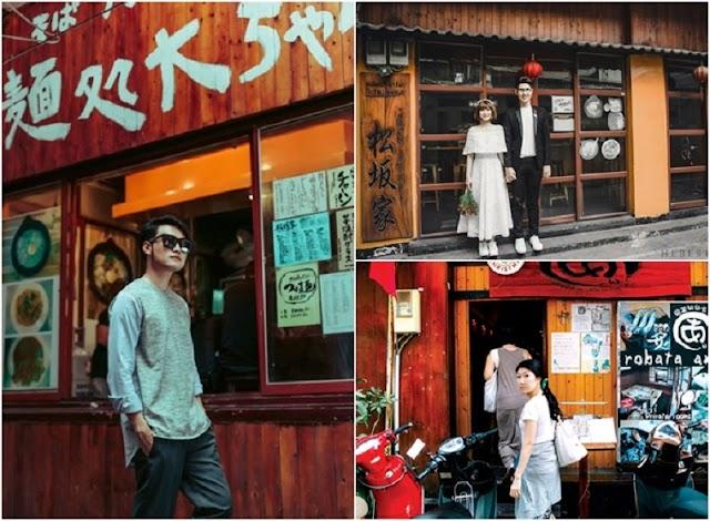 Beautiful alley like Hong Kong, the new 'virtual living' point of Saigon youth