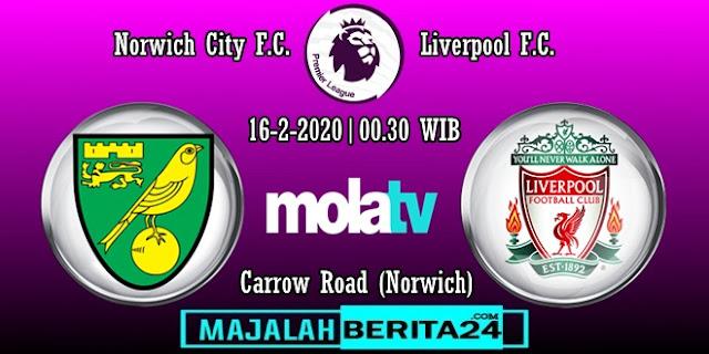 Prediksi Norwich City vs Liverpool