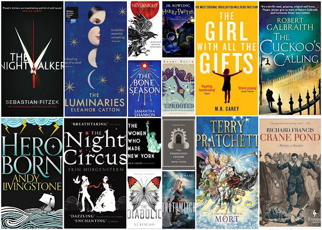 16 Favourite Books of 2016