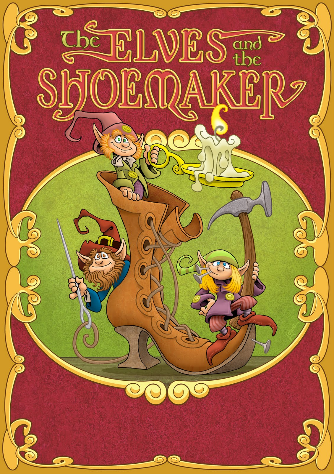 Dave Lowe Design The Blog Elves And The Shoemaker Part