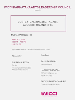 #arttrackwithnalini - 01, Contextualizing Digital Art, Algorithms and NFTs