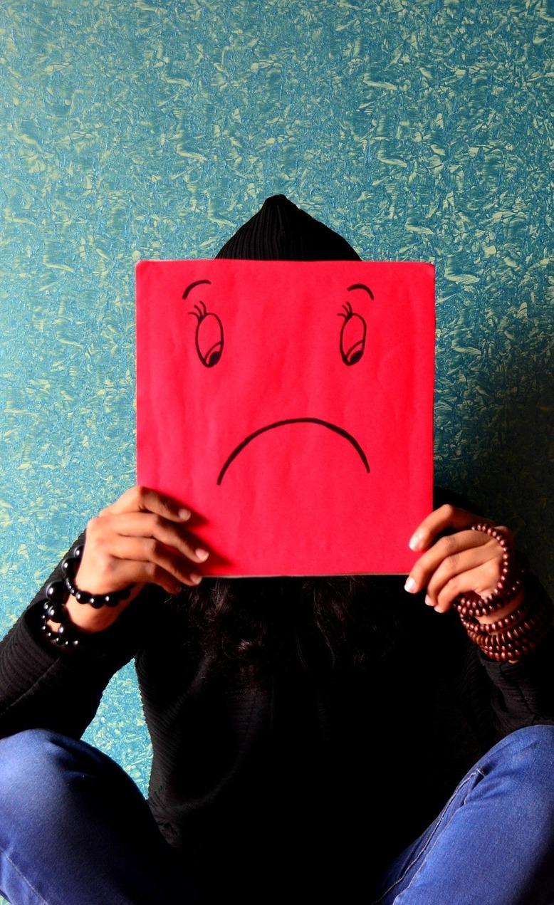 Unhappy.