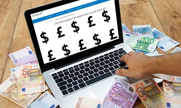 Comment gagner de l'argent en utilisant des sites Web ou des applications?