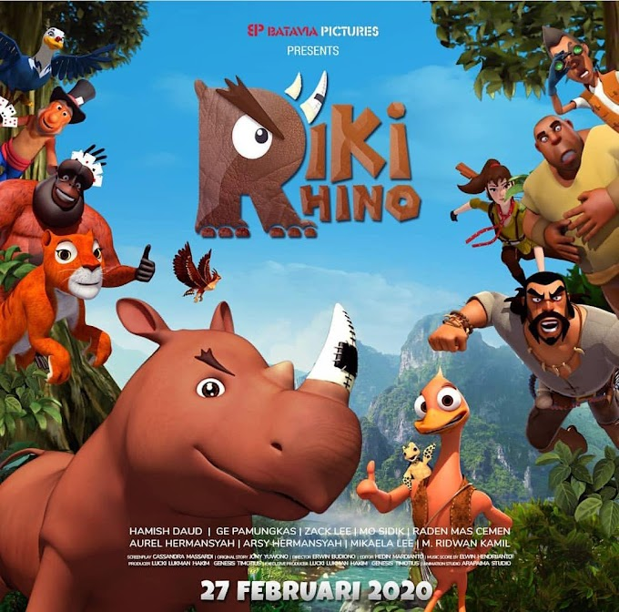 Gandeng Ridwan Kamil, Film Animasi Riki Rhino Siap Tayang Mulai 27 Februari 2020