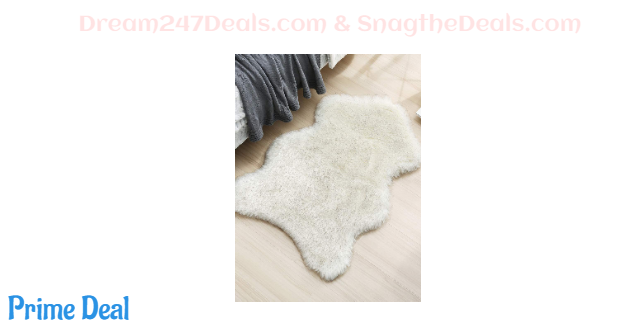 50% off Faux Sheepskin Fur Area Rug