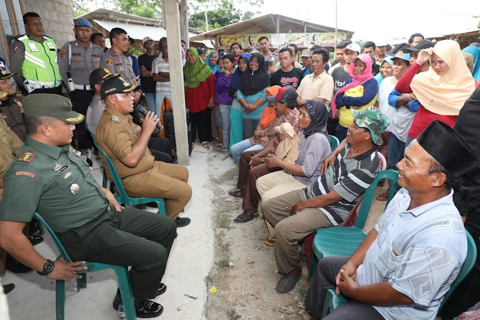 Plt.Nanang Ermanto Berupaya Selesaikan Lahan Sengketa Di Kec.Jati Agung Lamsel.