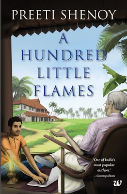 A Hundred Little Flames by Preeti Shenoy #BookReview #Books #BookChatter @preetishenoy