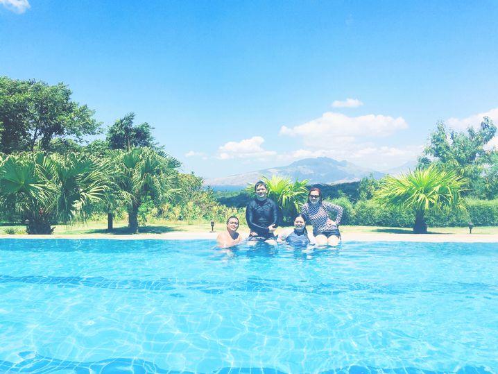Swimming pool at Sea Breeze Verandas at Anvaya Cove