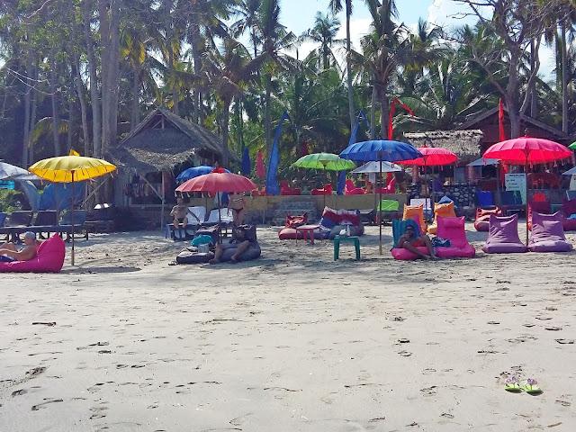 пляжи бали.White Sand beach