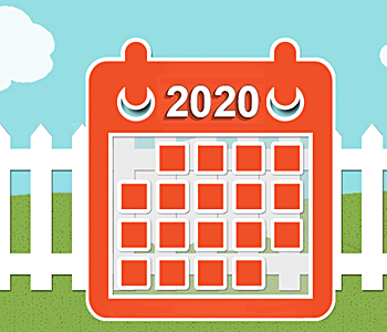 2020 City Wide & Neighborhood Garage Sale Events Calendar