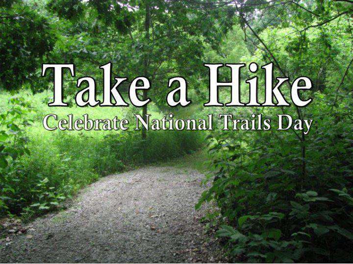 National Take a Hike Day Wishes Unique Image