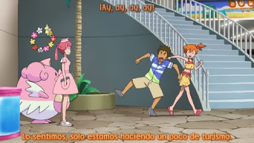 Pokemon Sol y Luna Capitulo 102 Temporada 20 Un Alola, en Alola Brock y Misty