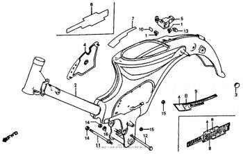 rangka baja tekan merupakan salah satu jenis rangka sepeda motor