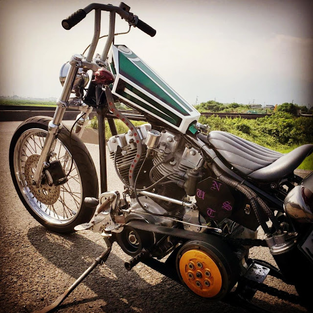 Harley Davidson Shovelhead By Nuts Custom Cycles Hell Kustom