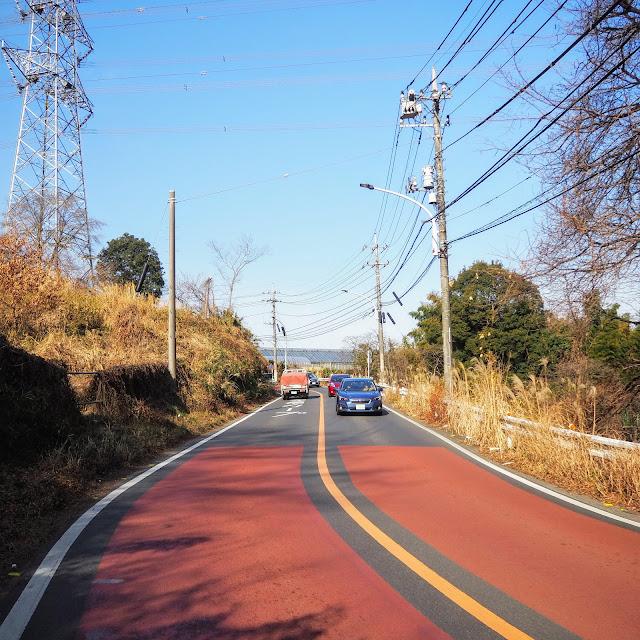 鶴川街道の峠