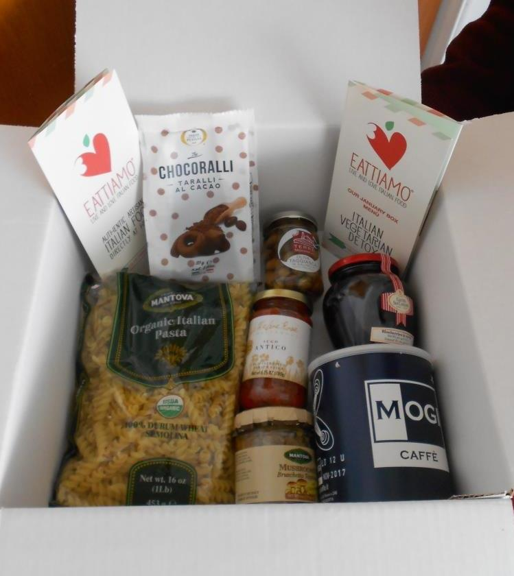 Eattiamo January 2017 box