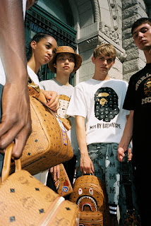 MCM and BATHING APE Team Up To Call Upon Prominent Canons Of '70s-Driven Apparel