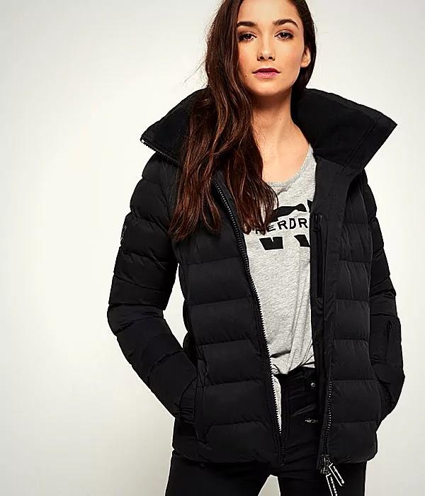 Ladies Lightweight Padded Jacket
