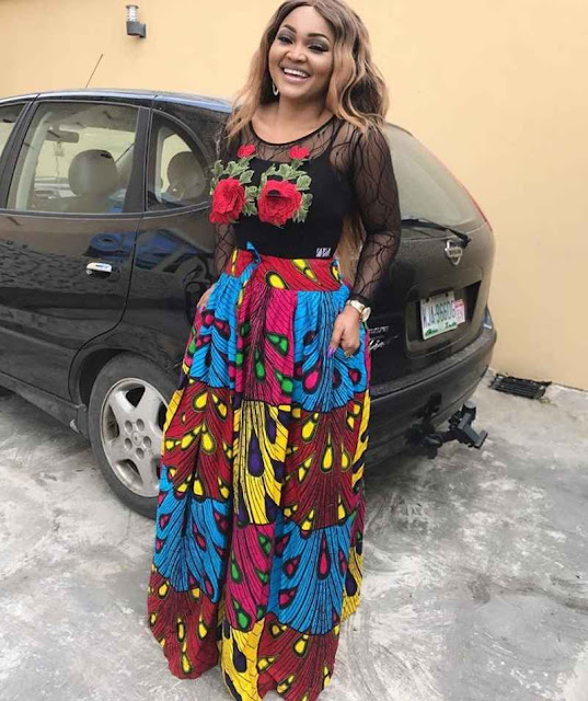 Latest Ankara skirt and blouse styles