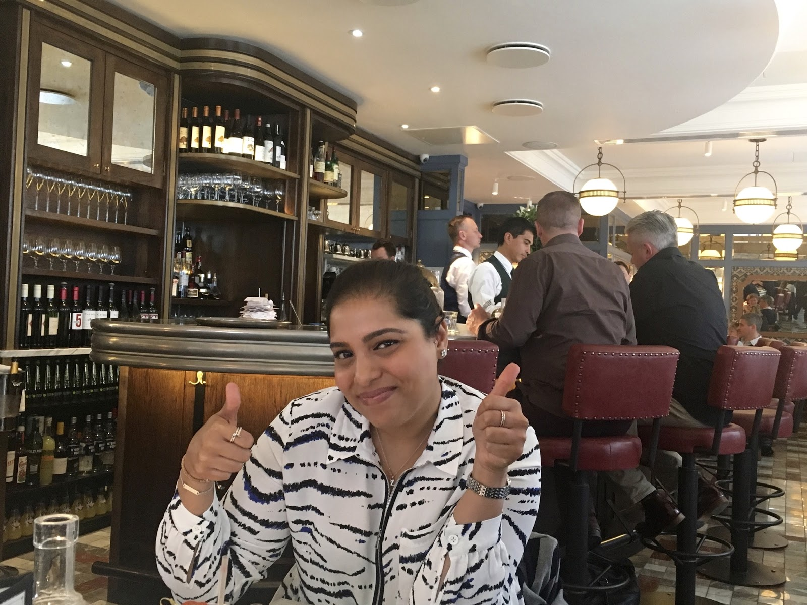 Lunch In The Ivy Cafe Marylebone Taking The Nicki