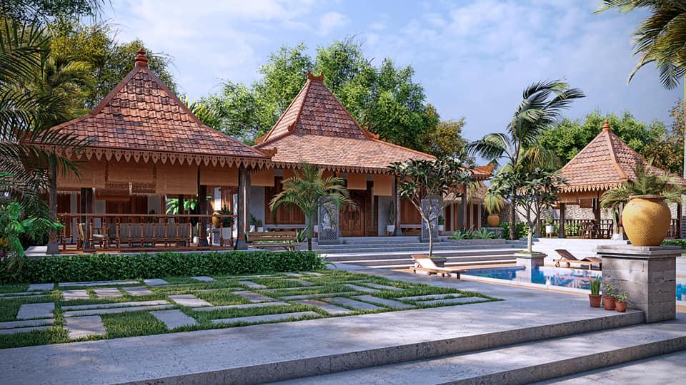resort kiểu Bali indo