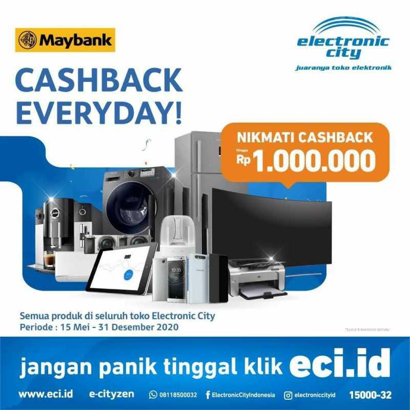 Electronic City Promo Maybank