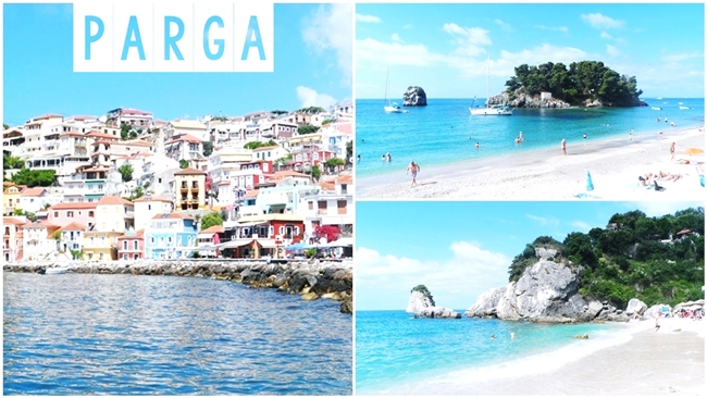 Best Parga beaches and town travel video.Parga letovanje video snimak.