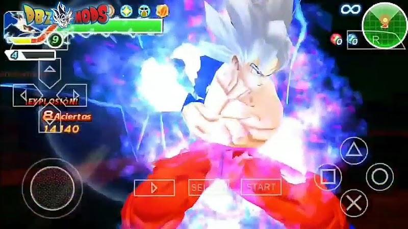 3D Dragon Ball Z TTT ISO V3 PPSSPP