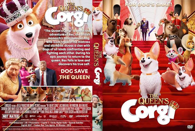 The Queen's Corgi DVD Cover