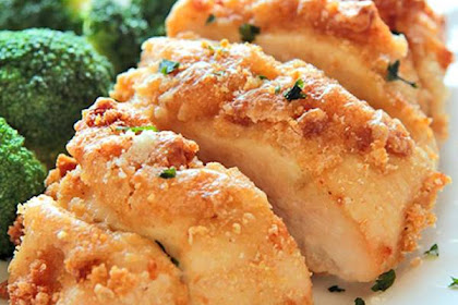 Best Delicious Baked Garlic Parmesan Chicken Recipe
