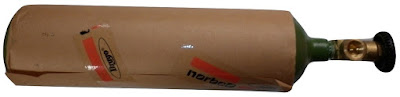 Tubo Nitrogeno 1/2 metro cubico Apto Refrigeracion R410 Marca Drago