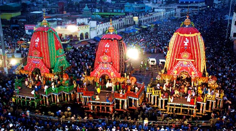 Fascinating Puri Jagannath Rath Yatra, 2017 - Navrang India