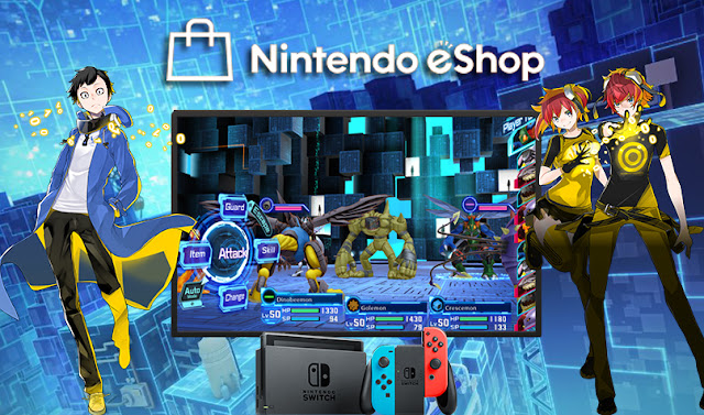 Nintendo Downloads: Monstros digitais