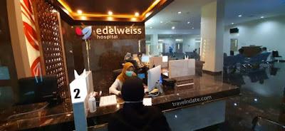 Pengalaman Membuat Gigi Palsu Tiruan di Edelweiss Hospital Kota Bandung, proses pembuatan dan total biaya membuat gigi palsu tahun 2020.