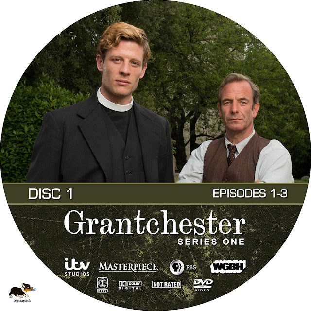 Grandchester Season 1 Disc 1 DVD Label
