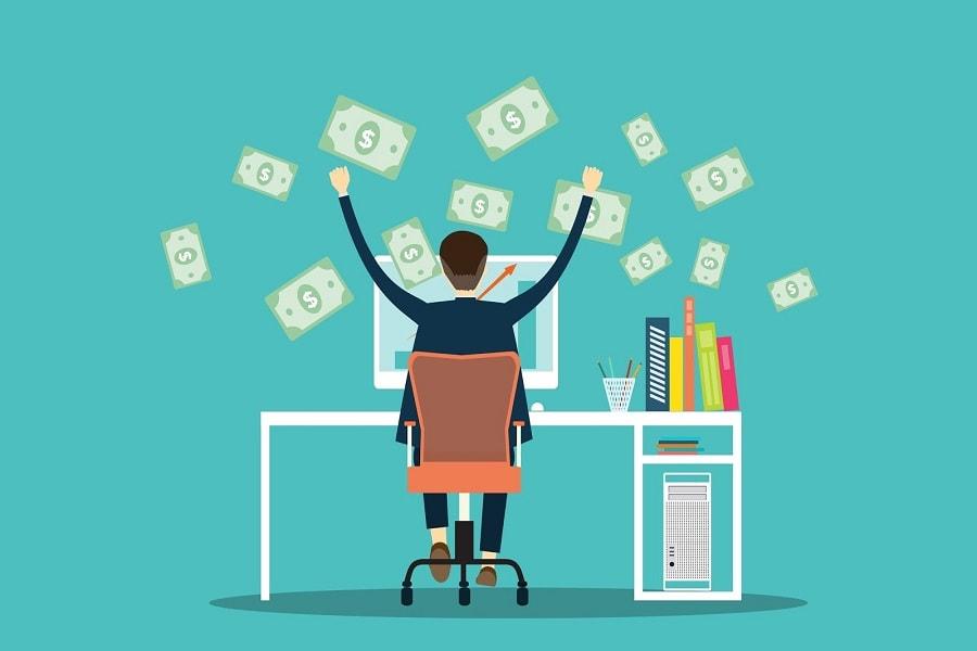 Mencari uang sebagai penulis online