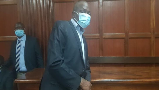 Gatundu South MP Moses Kuria in Court photo