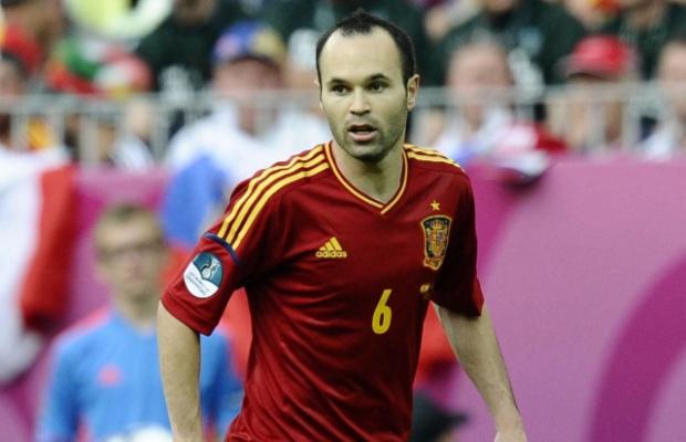 Andrés Iniesta, Espagne