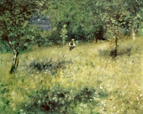 Spring at Chatou. Renoir
