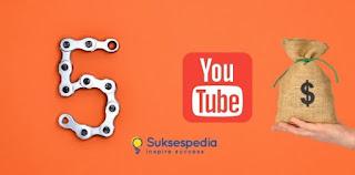 5 Cara Mendapatkan Uang dari YouTube Selain Adsense, Begini Caranya!