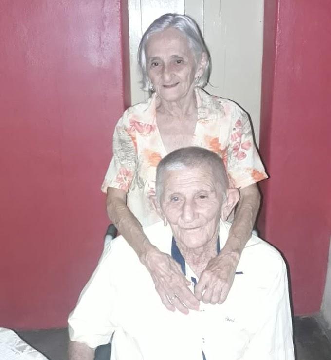 Idosos casados há 63 anos morrem de Covid-19 no mesmo dia em São João do Sabugi, RN
