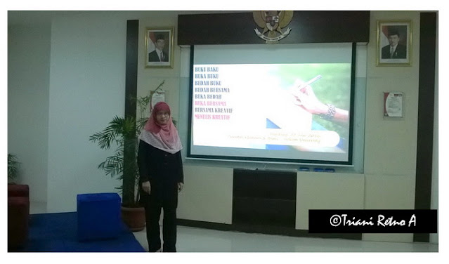 Bincang Menulis di Telkom University Bandung