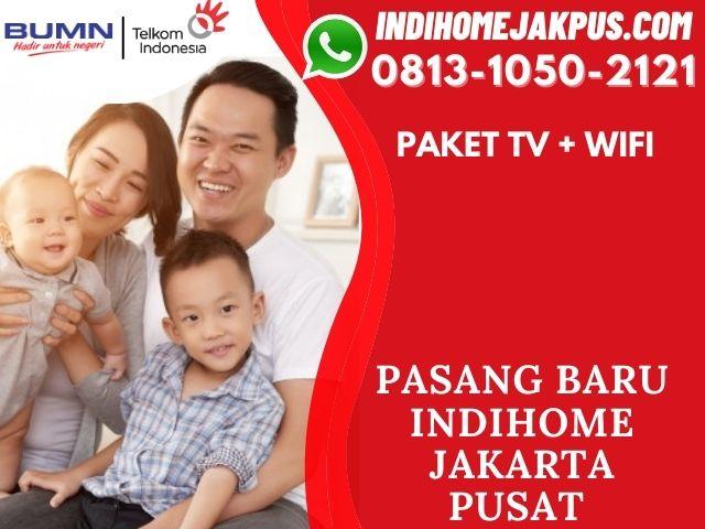 PAKET INDIHOME TV DAN INTERNET JAKARTA PUSAT