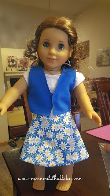 18 inch doll Girl Scout Daisy Uniform pattern