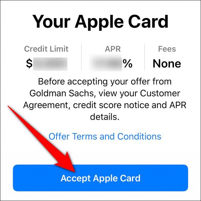 محفظة iPhone قبول بطاقة أبل
